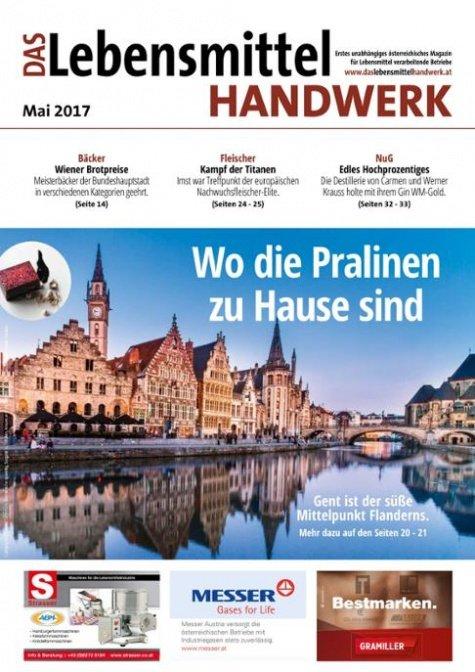Das Lebensmittelhandwerk Digital Nr. 5/2017