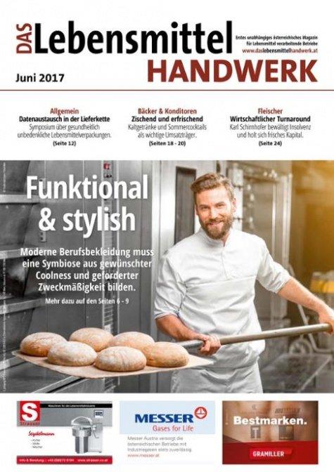 Das Lebensmittelhandwerk Digital Nr. 6/2017