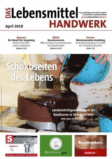 Das Lebensmittelhandwerk Digital Nr. 4/2018