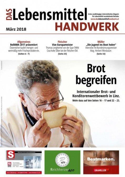 Das Lebensmittelhandwerk Digital Nr. 3/2018