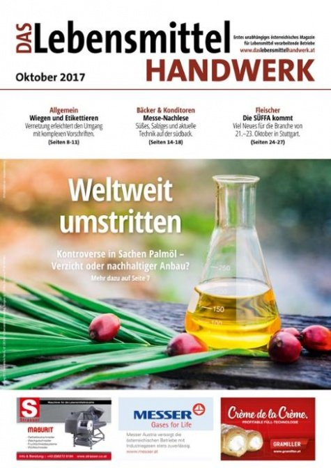 Das Lebensmittelhandwerk Digital Nr. 10/2017