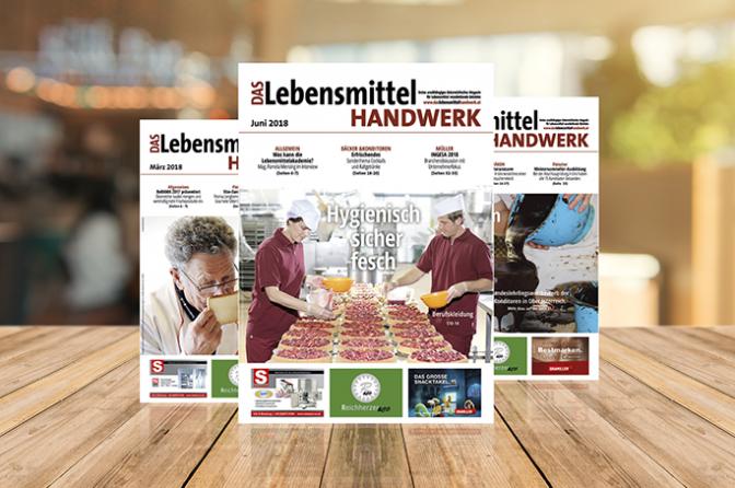 Probeheft Magazin Lebensmittelhandwerk