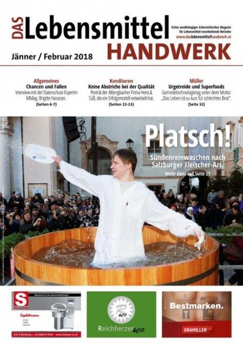 Das Lebensmittelhandwerk Digital Nr. 1/2018