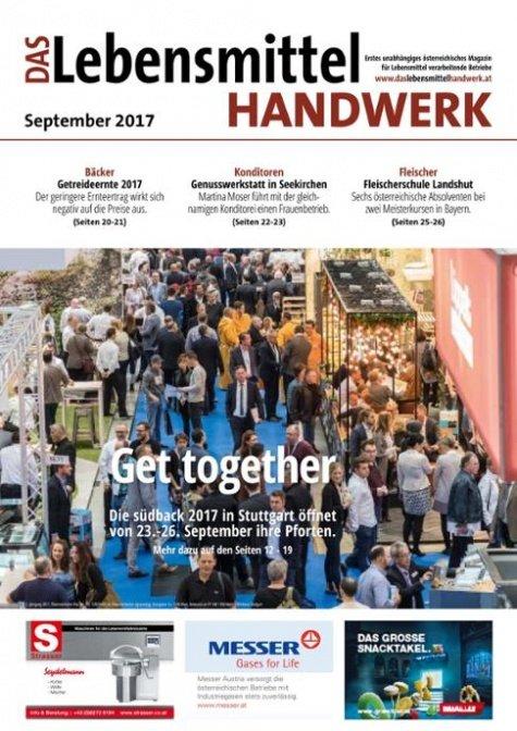 Das Lebensmittelhandwerk Digital Nr. 9/2017