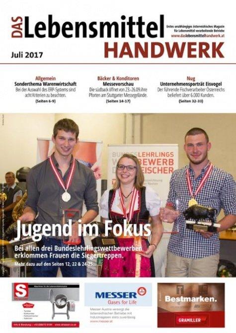 Das Lebensmittelhandwerk Digital Nr. 7/2017